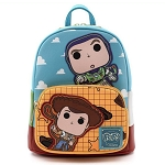 Disney Loungefly Mini Backpack - Pop! Disney Pixar Toy Story Buzz and Woody