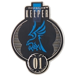 Universal Pin - Harry Potter Ravenclaw Quidditch Keeper Badge