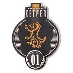 Universal Pin - Harry Potter Hufflepuff Quidditch Keeper Badge