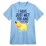 Disney Adult Shirt - Up - Dug - I Have Just Met You and I Love You