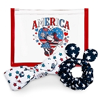 Disney Hair Set - Americana Minnie Mouse