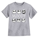 Disney Toddler Shirt - Glow in the Dark - Jack Skellington - Moody