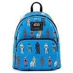 Disney Loungefly Mini Backpack - Star Wars Action Figures AOP