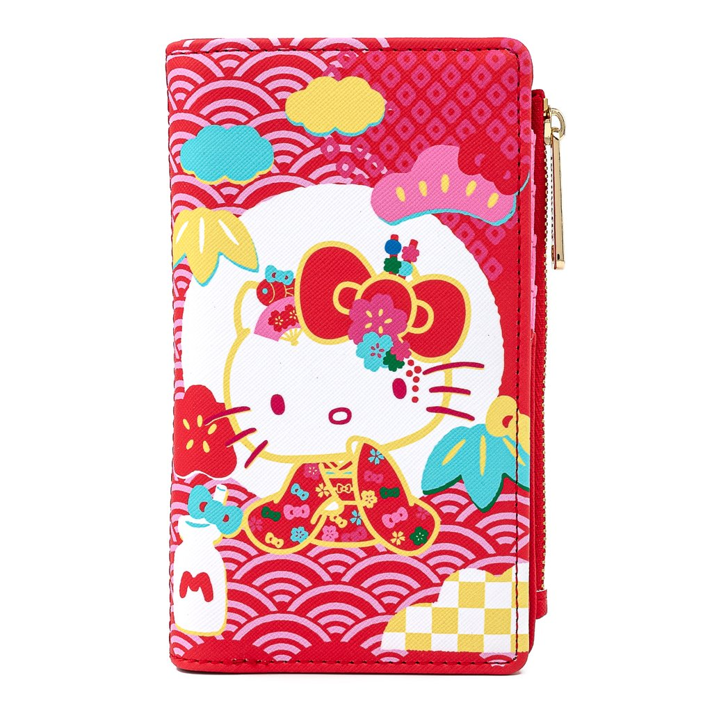 Universal Loungefly Wallet - Sanrio 60th Anniversary