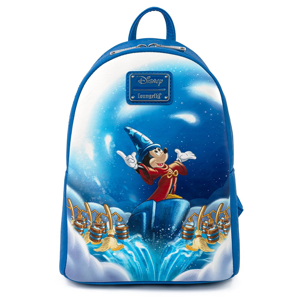 Disney Loungefly Backpack - Fantasia Sorcerer Mickey Mouse Scene Mini Backpack