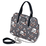 Disney Loungefly Cross Body Bag - Minnie and Mickey Halloween AOP