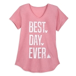 Disney Women's Shirt - Disney Parks - Best Day Ever