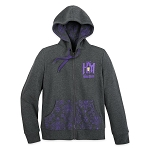 Disney Women's Zip Up Hoodie - The Haunted Mansion