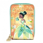 Disney Loungefly Zip Around Wallet - Princess and the Frog - Tiana & Naveen Kiss