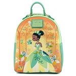 Disney Loungefly Mini Backpack - Princess and the Frog - Tiana & Naveen Kiss