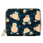 Loungefly Zip Around Wallet - Pokemon - Snorlax AOP