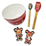 Disney Baking Set - Holiday Gingerbread Mickey and Minnie