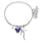 Disney Alex and Ani Bracelet - Wishes Come True Blue - Mickey Mouse