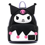 Universal Loungefly Backpack - Sanrio Kuromi Cosplay