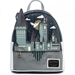 Universal Loungefly Backpack - Harry Potter Hogwarts Castle Mini Backpack