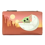 Disney Loungefly Wallet - Star Wars The Mandalorian The Child Wait For Me