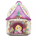 Disney Loungefly Backpack - Tangled Tower Scene Mini Backpack