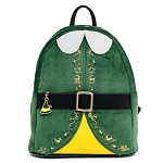 Elf Loungefly Backpack - Buddy the Elf Christmas Cosplay Mini Backpack