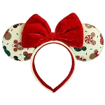 Disney Loungefly Ears - Christmas Mickey and Minnie Cookie Ears