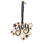 Universal Metal Disc Ornament - Joy