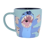 Disney Coffee Cup Mug - Mornings BAD, Coffee GOOD - Stitch and Scrump