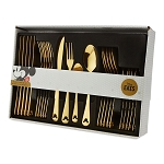 Disney Flatware Set - Mickey Mouse Icon - Gold