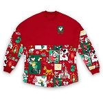 Disney Adult Shirt - Walt Disney World Mickey Christmas Spirit Jersey