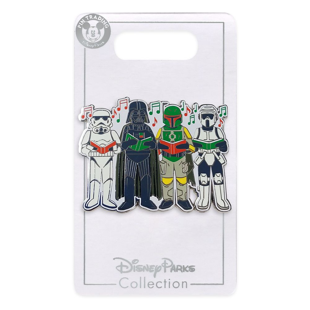 Disney Pin - Star Wars Darth Vader, Boba Fett and Stormtroopers Holiday Pin
