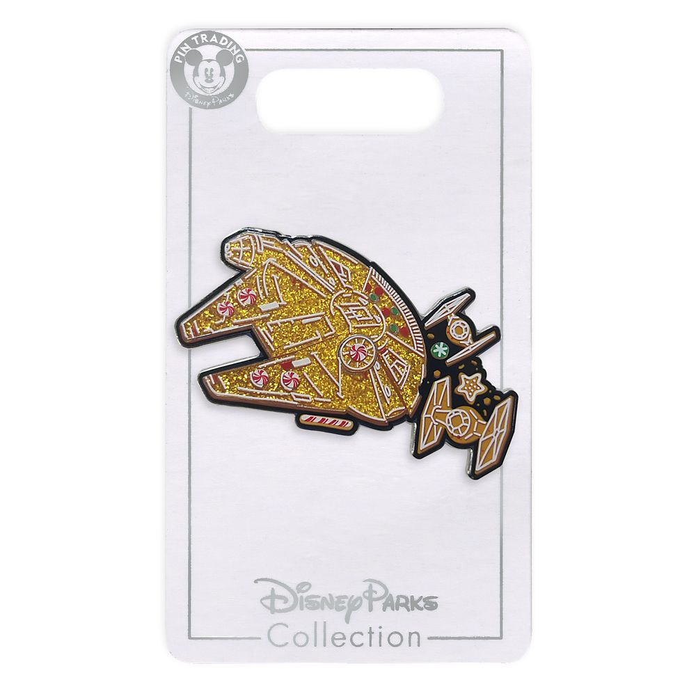 Disney Pin - Star Wars Millennium Falcon Cookie Holiday Pin