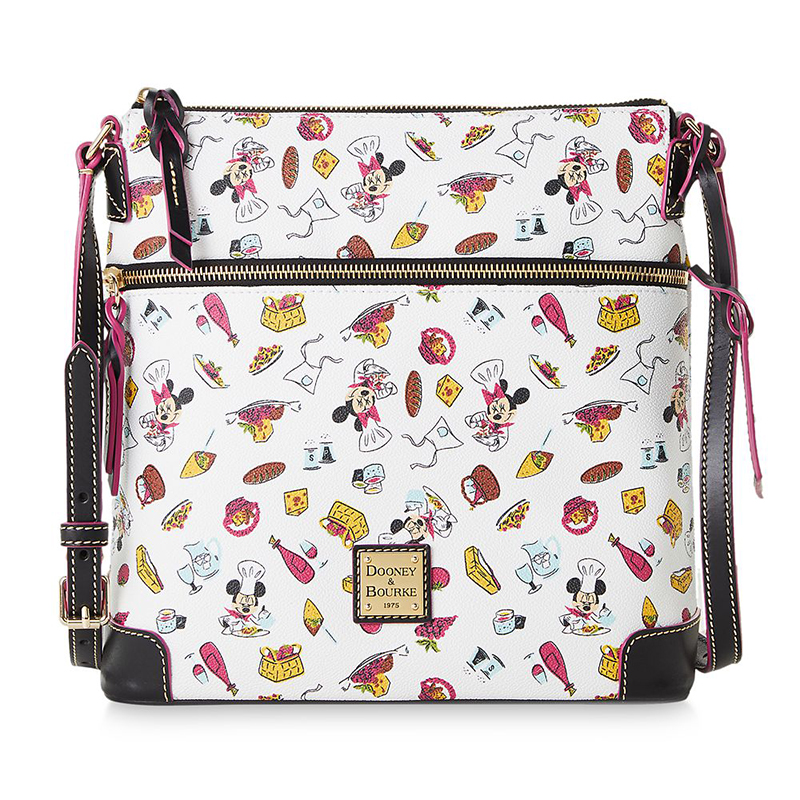 Disney Dooney and Bourke Bag - Epcot Food and Wine 2020 - Mickey and Minnie Mouse - Letter Carrier