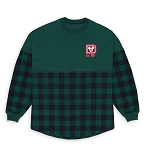 Disney Adult Shirt - Holiday Peppermint Buffalo Check Plaid