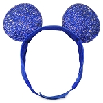 Disney Adjustable Ear Headband - Adaptable Fit - Mickey Mouse - Wishes Come True Blue