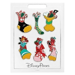Disney Pin Set of 6 Pin - Mickey Mouse and Friends Holiday Stocking Pins