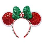 Disney Ear Headband - Minnie Mouse - Peppermint Twist