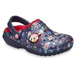 Disney Adult Crocs - Mickey Mouse Holiday - T'was the Night Before Christmas
