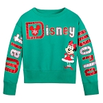 Disney Child Shirt - Walt Disney World Santa Minnie Sweatshirt