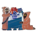 Disney Pin - Star Wars R2-D2 and Jawas Holiday Pin