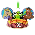 Disney Ear Hat Ornament - Muppet Vision 3D