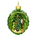 Disney Christmas Ornament - Light Up - Mickey Mouse and Pluto - Pinecone