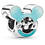 Disney Pandora Charm - 2021 Logo - Mickey Mouse Icon