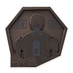 Disney Star Wars Pin - K-2SO -  Galaxy's Edge: Droid Badge