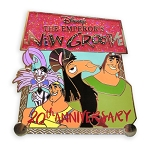 Disney Emperor's New Groove Pin - 20th Anniversary