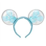 Disney Ear Headband - Mickey Mouse Snowflake Balloon - Light Up