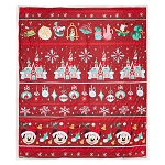 Disney Throw Blanket - Mickey Mouse - Disney Parks Holiday