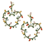 Disney Earrings by BaubleBar - Mickey Mouse Holiday Lights