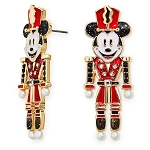 Disney Earrings by BaubleBar - Mickey Mouse Holiday Nutcracker