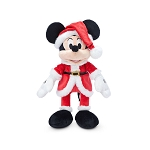 Disney Plush - Santa Mickey Mouse - 11''