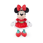 Disney Plush - Santa Minnie Mouse - 11''