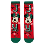 Disney Adult Holiday Socks - Minnie Mouse - Joy