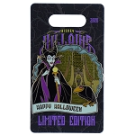 Disney Villains Pin - 2020 Happy Halloween - Maleficent and The Raven